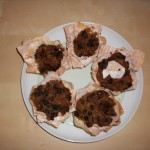 mince pie muffins cooked